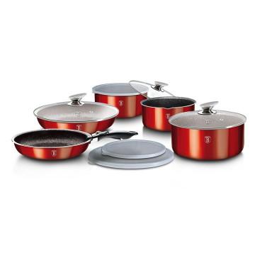Индукционный Набор Посуды Berlinger Haus Burgundy Edition-12 предметов