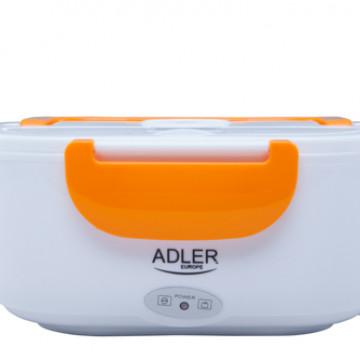 Оранжевый-ЛанчБокс с подогревом от сети Adler