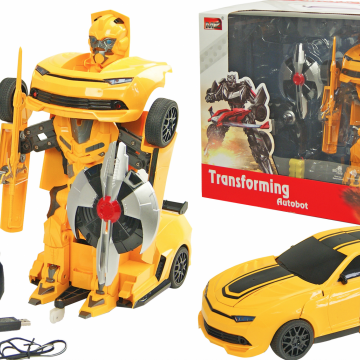 Робот-трансформер Chevrolet Camaro Yellow