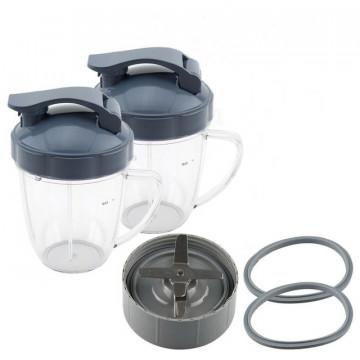 Чаши для Блендера c Крышками для FreshBullet
