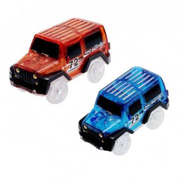 Машинка для Волшебной Трассы Синий Красный