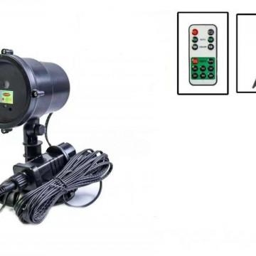 Зимние Узоры-Лазерный Проектор с пультом и дистанционным управлением