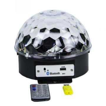 Светодиодный Диско-Шар с пультом и Bluetooth
