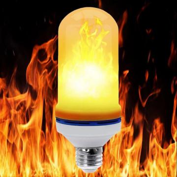 Лампа Led Flame (Эффект Горения Огня) - LED FLAME BULB E27